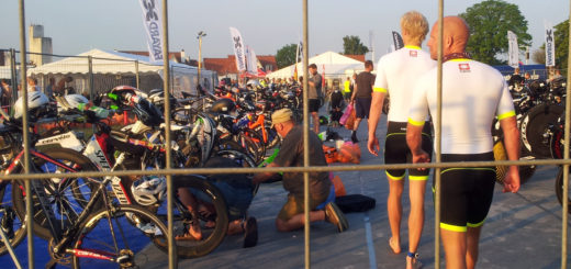 Klargøring af cykler i skiftezone