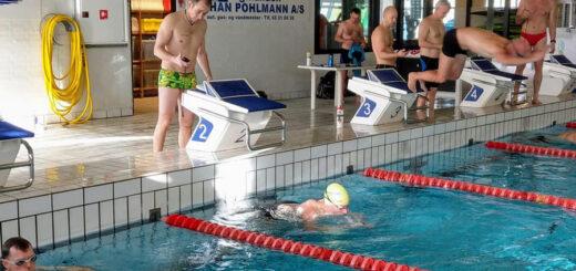 Nyborgtri Cup, Start på 400 meter fri, Nyborg Svømmehal