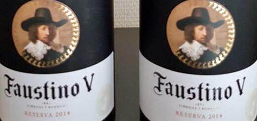 Præmie: Spansk Rødvin, Faustino V.