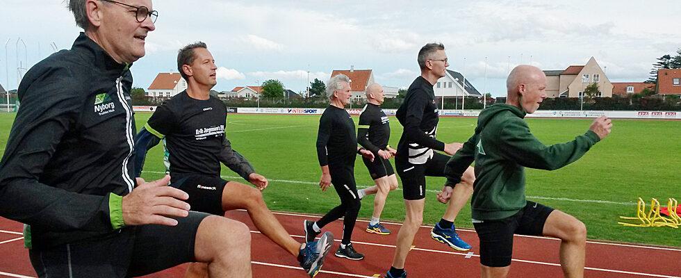 Løbekursus med teknisk træning i Idrætsparken